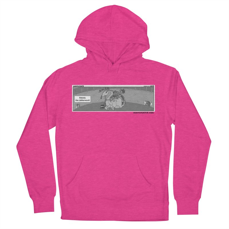 Behold the Jabberwock! - Webcomic Strip Women's French Terry Pullover Hoody by MostlySAFE Webcomic Shwag