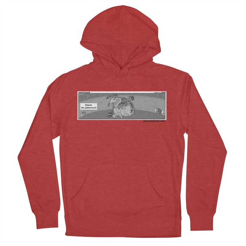 Behold the Jabberwock! - Webcomic Strip Men's French Terry Pullover Hoody by MostlySAFE Webcomic Shwag