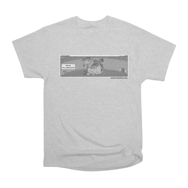 Behold the Jabberwock! - Webcomic Strip Women's Heavyweight Unisex T-Shirt by MostlySAFE Webcomic Shwag