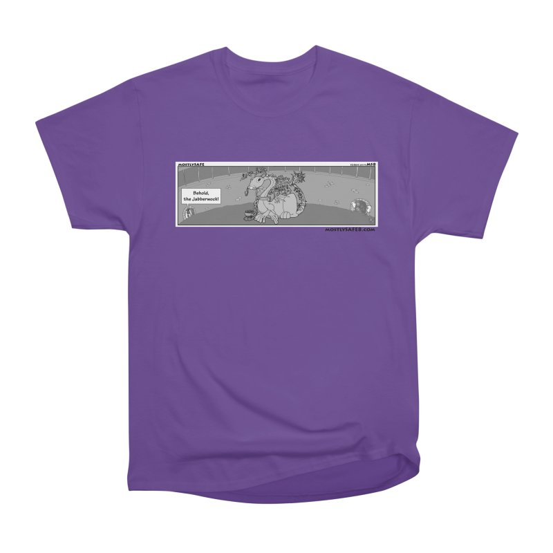 Behold the Jabberwock! - Webcomic Strip Men's Heavyweight T-Shirt by MostlySAFE Webcomic Shwag