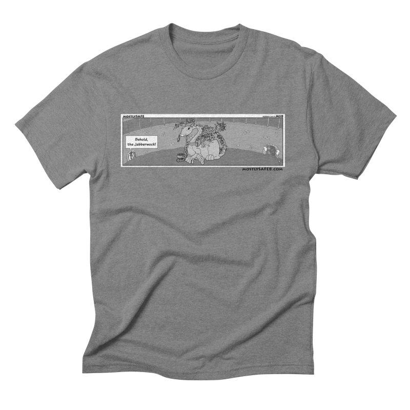 Behold the Jabberwock! - Webcomic Strip Men's Triblend T-Shirt by MostlySAFE Webcomic Shwag
