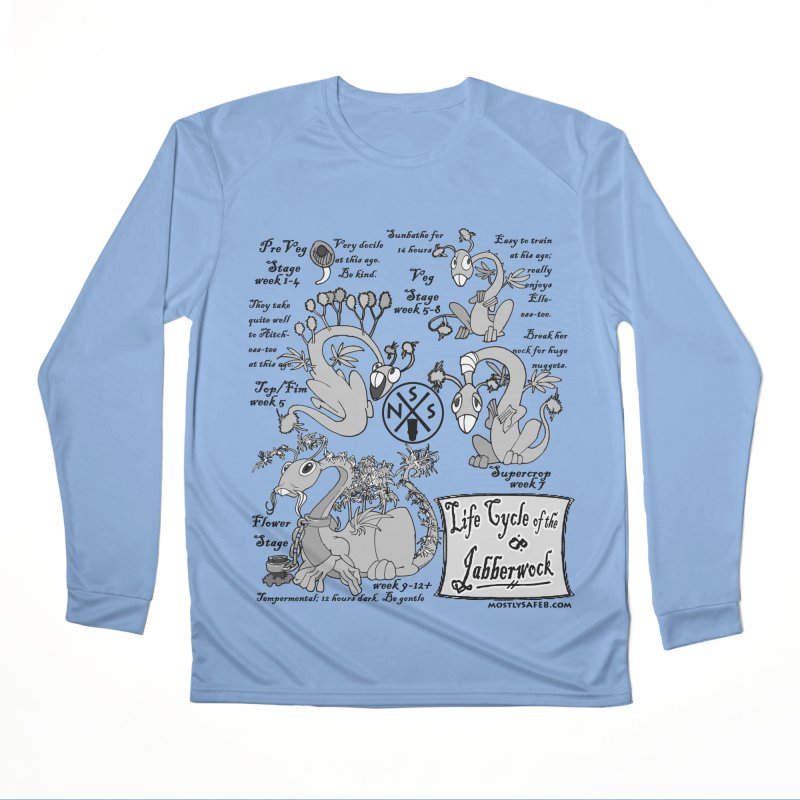 Life Cycle of the Jabberwock Men's Longsleeve T-Shirt by MostlySAFE Webcomic Shwag
