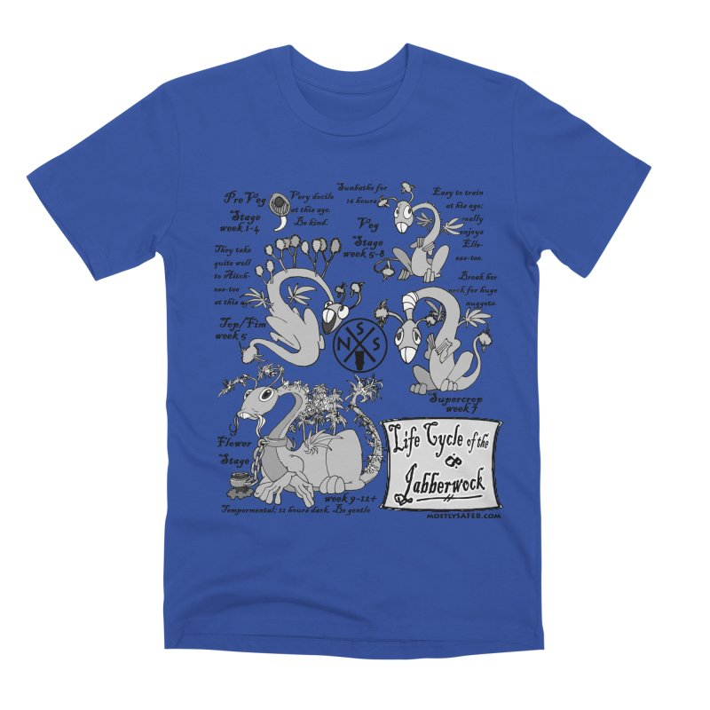 Life Cycle of the Jabberwock Men's T-Shirt by MostlySAFE Webcomic Shwag