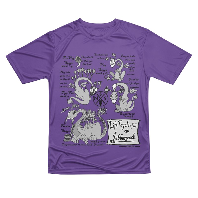 Life Cycle of the Jabberwock Women's Performance Unisex T-Shirt by MostlySAFE Webcomic Shwag