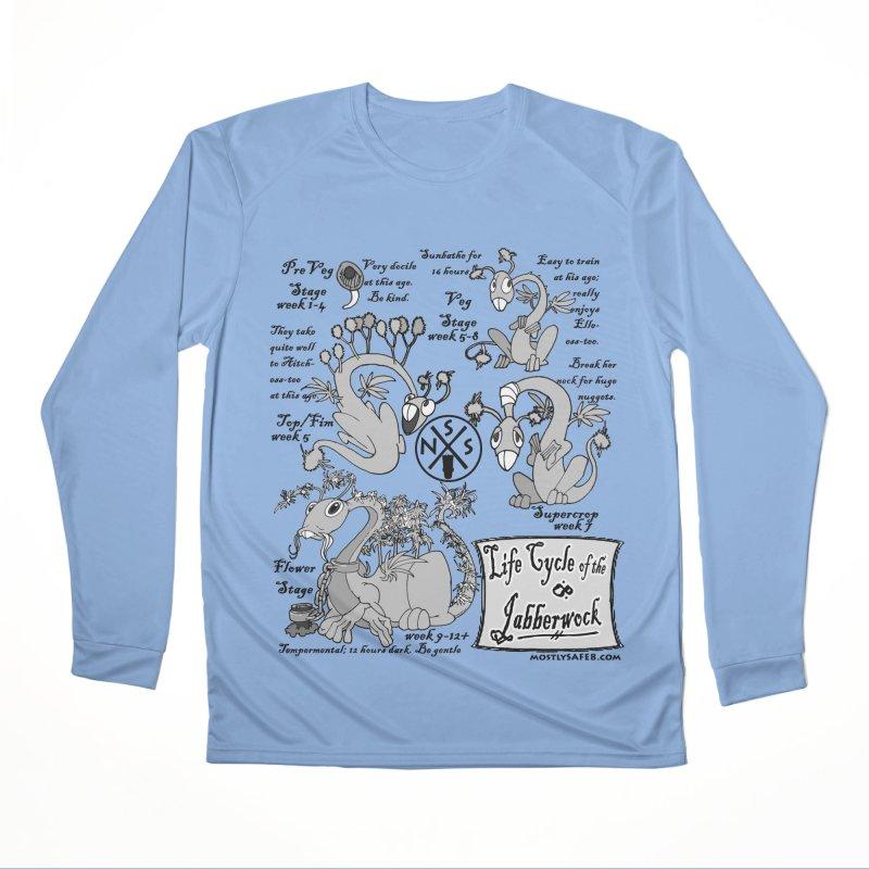 Life Cycle of the Jabberwock Women's Longsleeve T-Shirt by MostlySAFE Webcomic Shwag