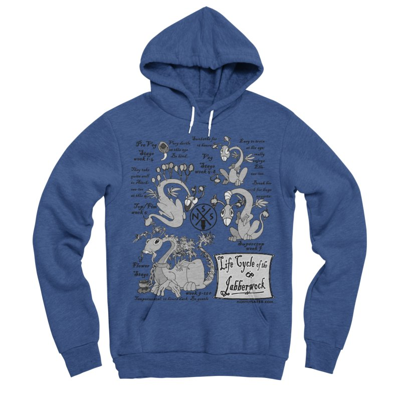 Life Cycle of the Jabberwock Women's Sponge Fleece Pullover Hoody by MostlySAFE Webcomic Shwag