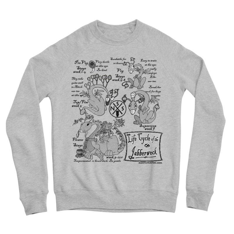 Life Cycle of the Jabberwock Men's Sponge Fleece Sweatshirt by MostlySAFE Webcomic Shwag