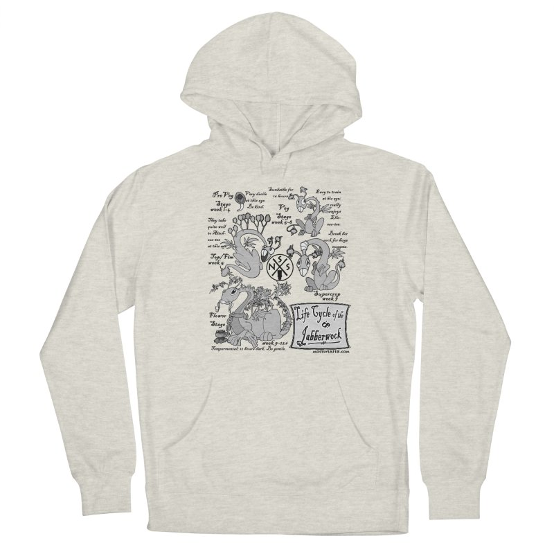 Life Cycle of the Jabberwock Men's French Terry Pullover Hoody by MostlySAFE Webcomic Shwag