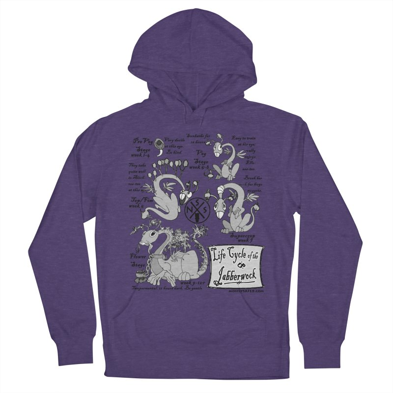 Life Cycle of the Jabberwock Women's French Terry Pullover Hoody by MostlySAFE Webcomic Shwag