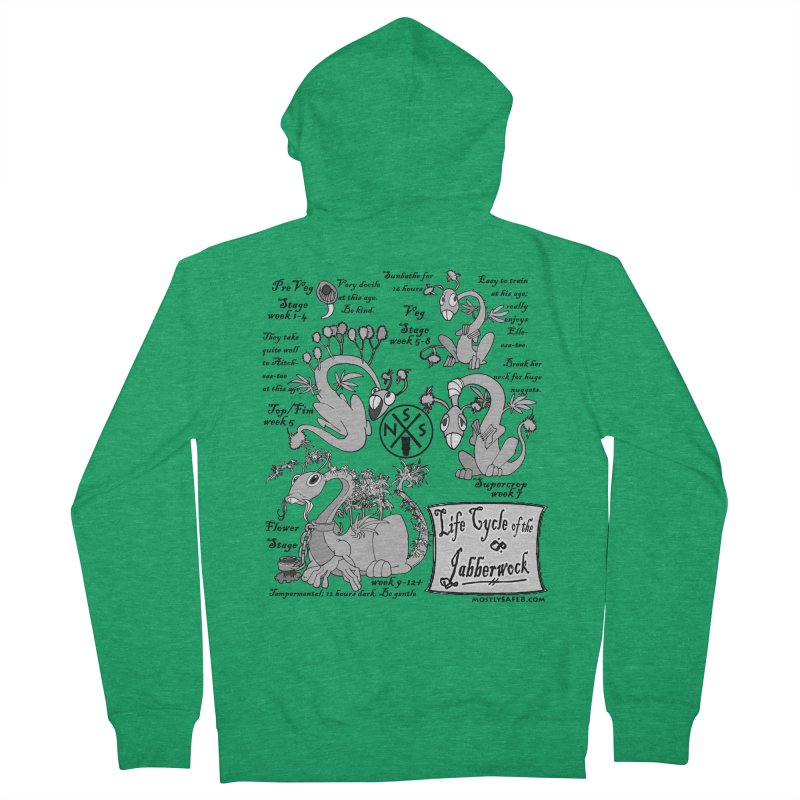 Life Cycle of the Jabberwock Women's Zip-Up Hoody by MostlySAFE Webcomic Shwag
