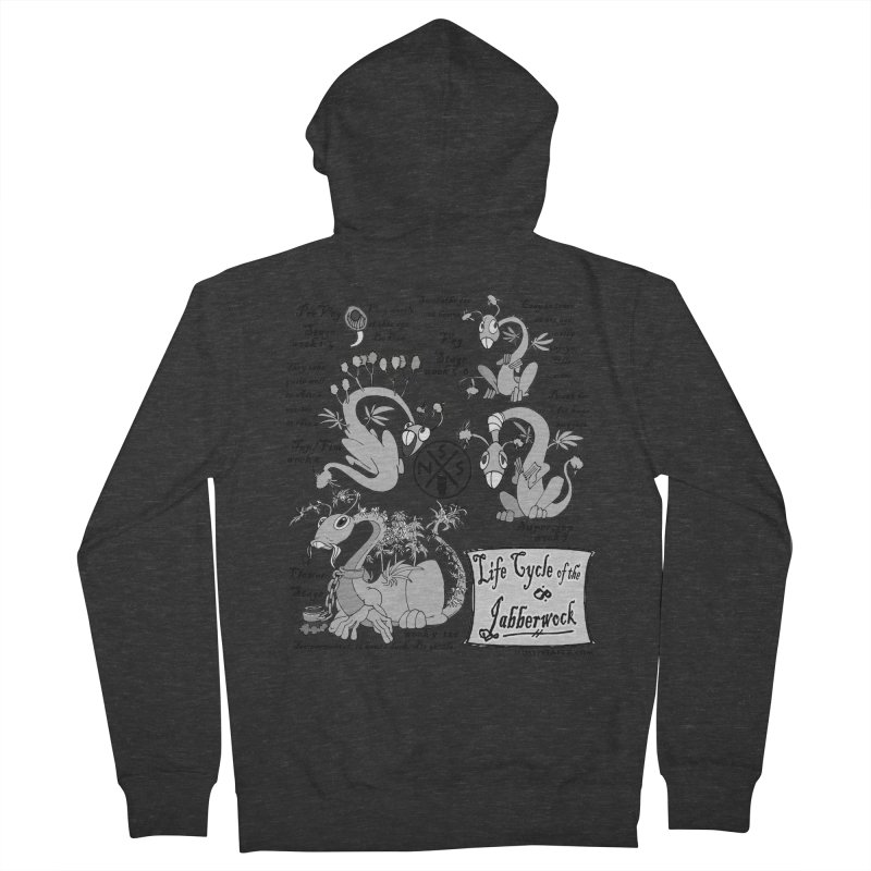 Life Cycle of the Jabberwock Women's French Terry Zip-Up Hoody by MostlySAFE Webcomic Shwag