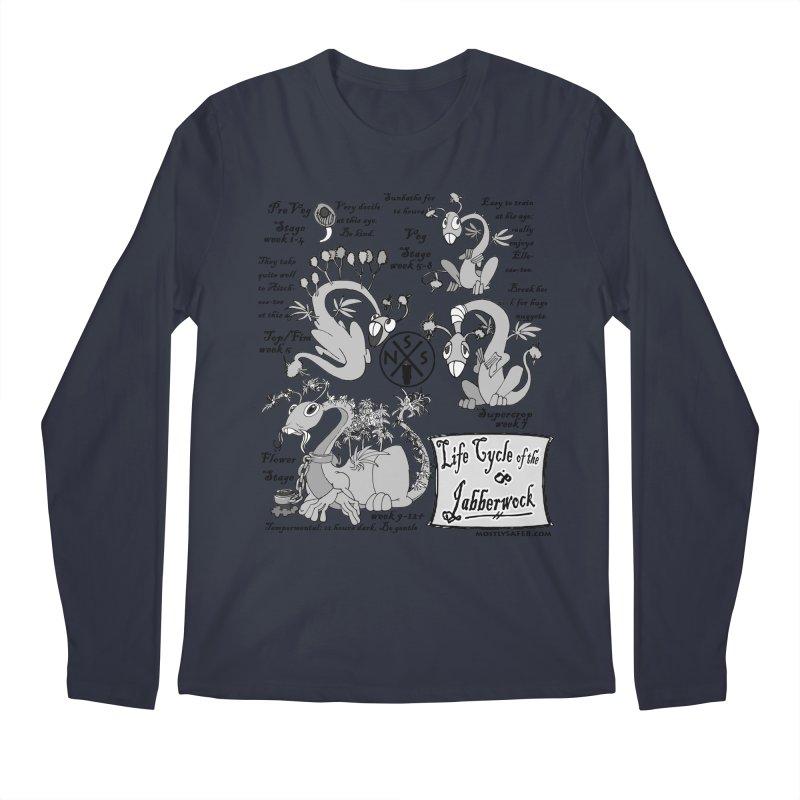 Life Cycle of the Jabberwock Men's Regular Longsleeve T-Shirt by MostlySAFE Webcomic Shwag