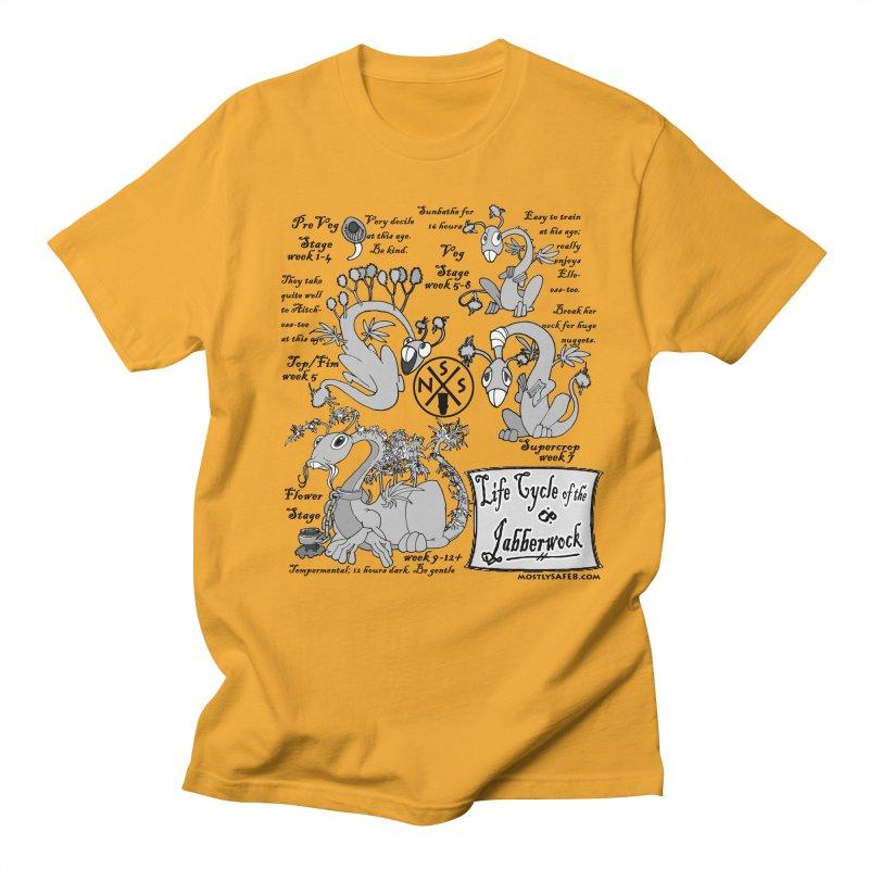 Life Cycle of the Jabberwock Women's Regular Unisex T-Shirt by MostlySAFE Webcomic Shwag