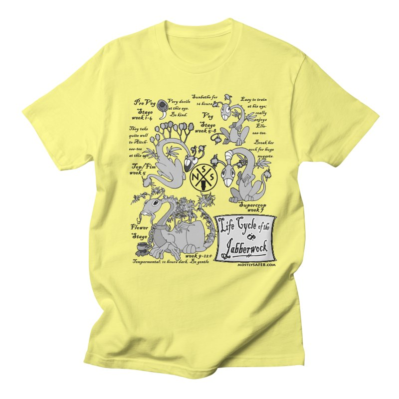 Life Cycle of the Jabberwock Men's Regular T-Shirt by MostlySAFE Webcomic Shwag
