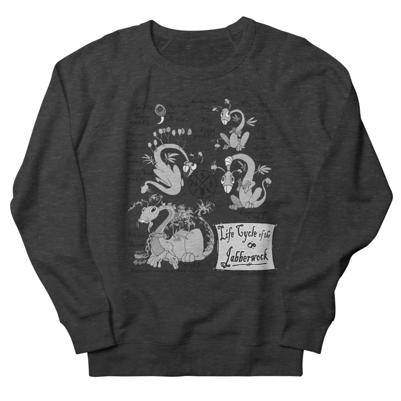 Life Cycle of the Jabberwock Women's French Terry Sweatshirt by MostlySAFE Webcomic Shwag