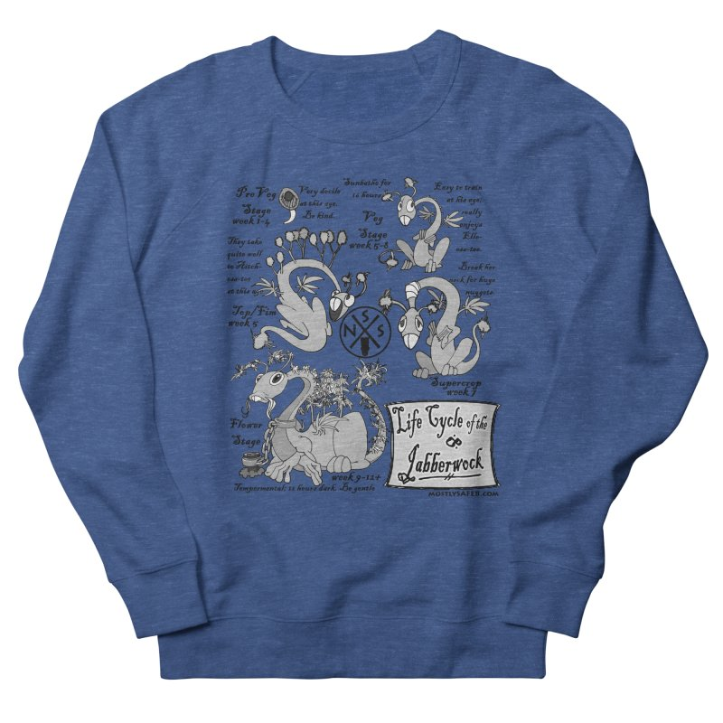 Life Cycle of the Jabberwock Men's Sweatshirt by MostlySAFE Webcomic Shwag