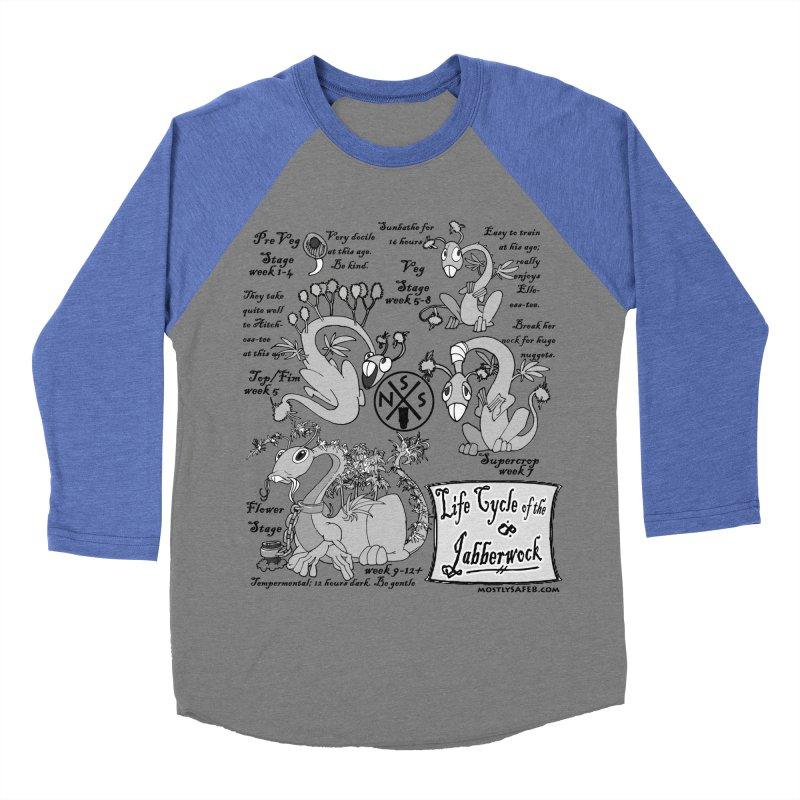 Life Cycle of the Jabberwock Women's Baseball Triblend Longsleeve T-Shirt by MostlySAFE Webcomic Shwag