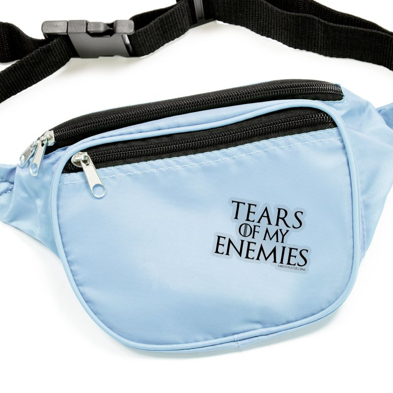 Tears of my Enemies - Black Text Accessories Sticker by MostlySAFE Webcomic Shwag