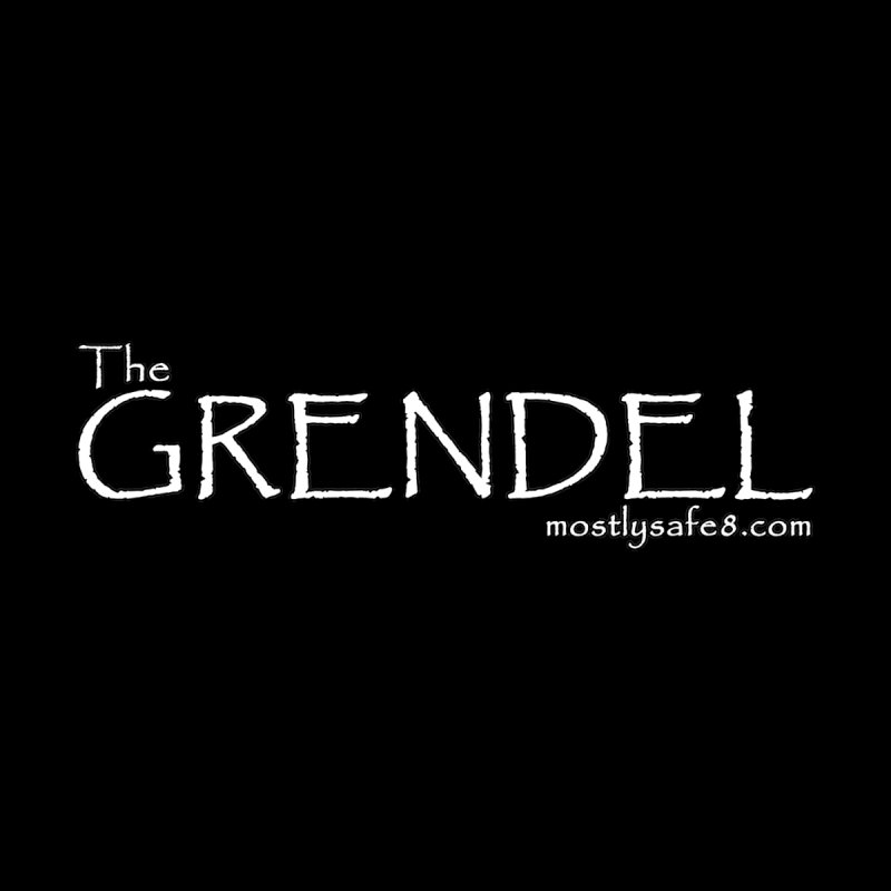 GRENDEL Space Bucket Logo Accessories Mug by MostlySAFE Webcomic Shwag