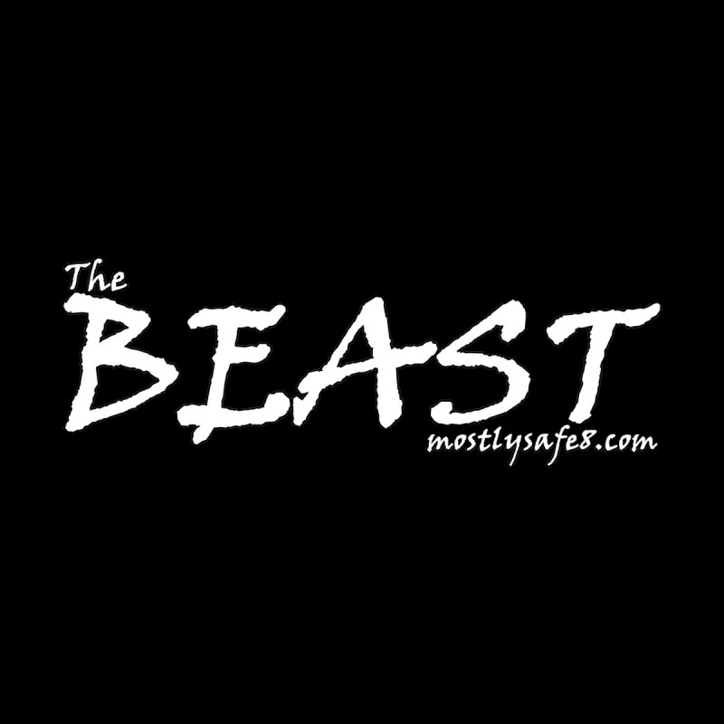 The BEAST Space Bucket Logo Accessories Sticker by MostlySAFE Webcomic Shwag