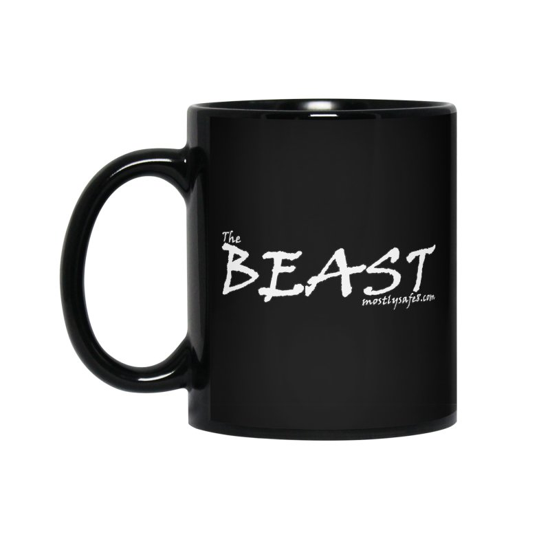 The BEAST Space Bucket Logo Accessories Standard Mug by MostlySAFE Webcomic Shwag