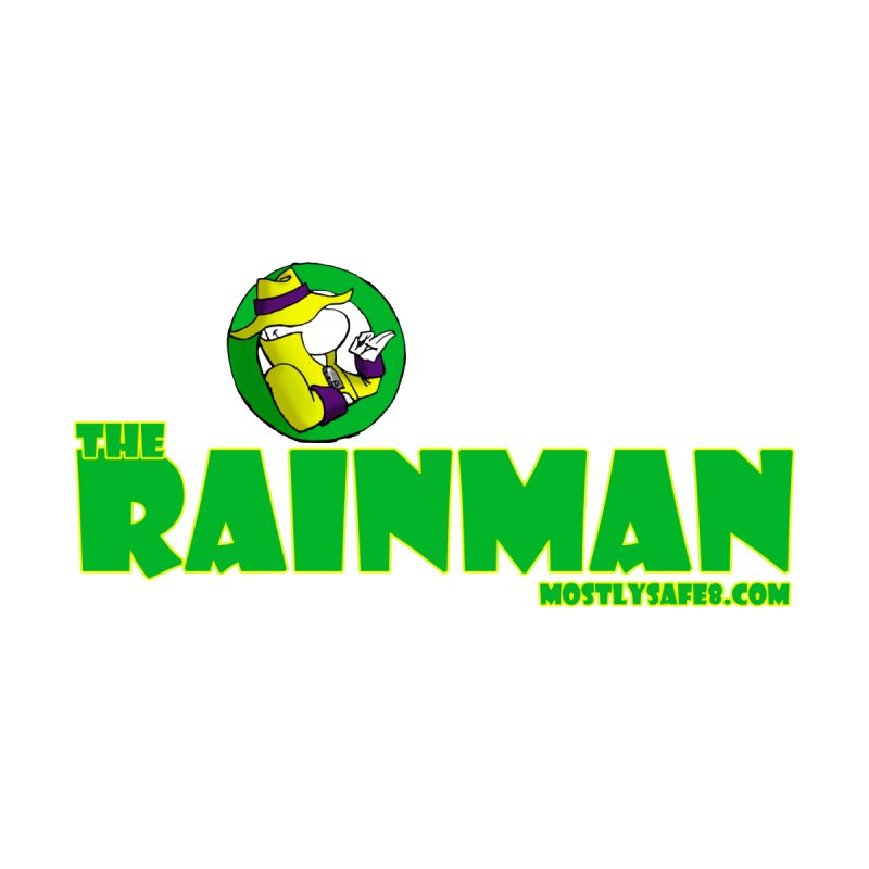 The RainMan Space Bucket Logo Accessories Mug by MostlySAFE Webcomic Shwag
