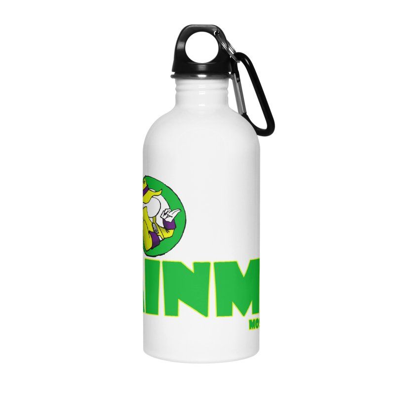 The RainMan Space Bucket Logo Accessories Water Bottle by MostlySAFE Webcomic Shwag
