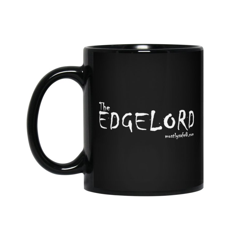 The EDGELORD Space Bucket Logo Accessories Standard Mug by MostlySAFE Webcomic Shwag