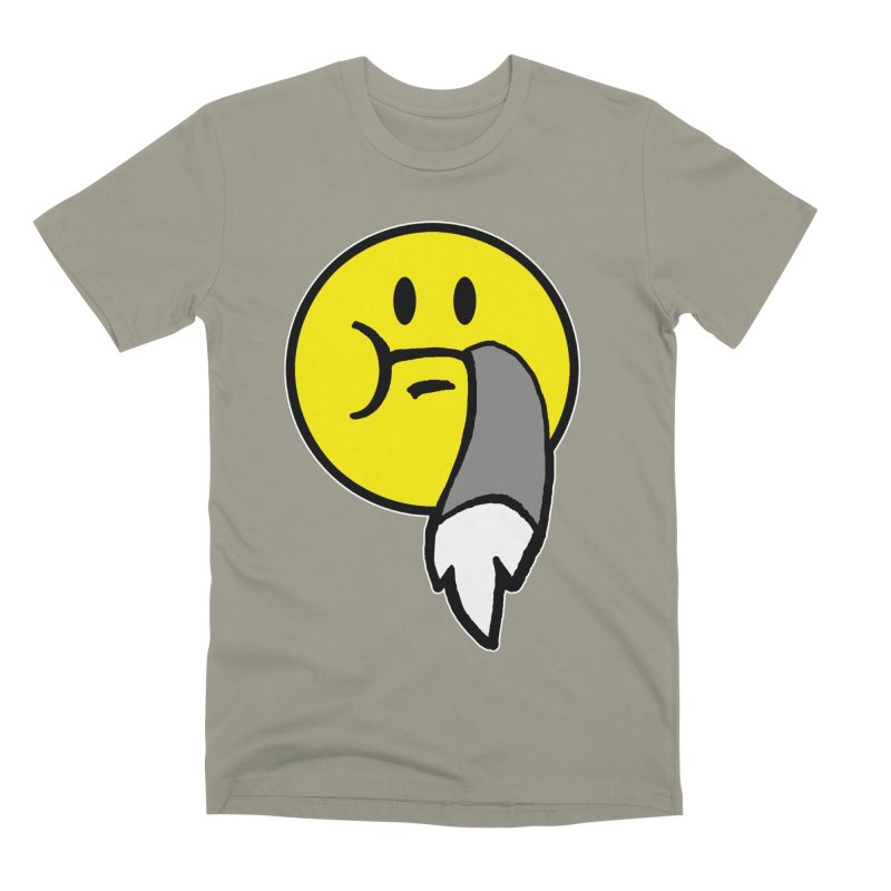 Mustache Ride Emoji Men's T-Shirt by MostlySAFE Webcomic Shwag