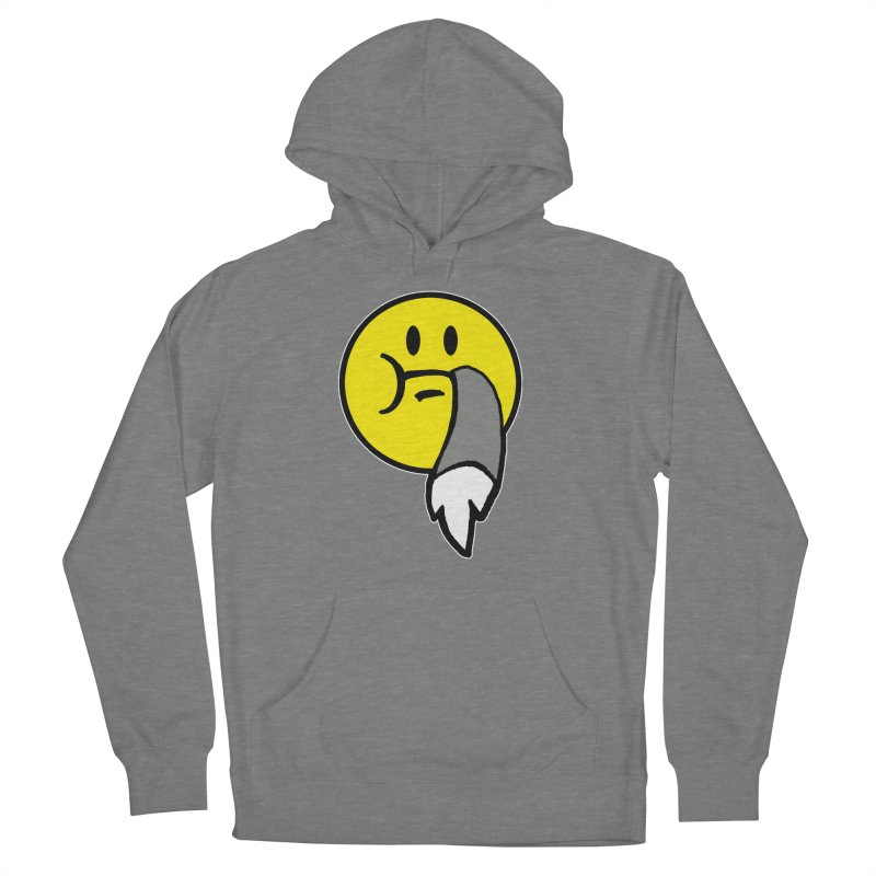 Mustache Ride Emoji Women's Pullover Hoody by MostlySAFE Webcomic Shwag