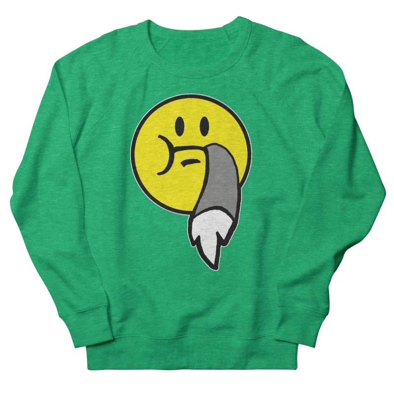 Mustache Ride Emoji Women's Sweatshirt by MostlySAFE Webcomic Shwag