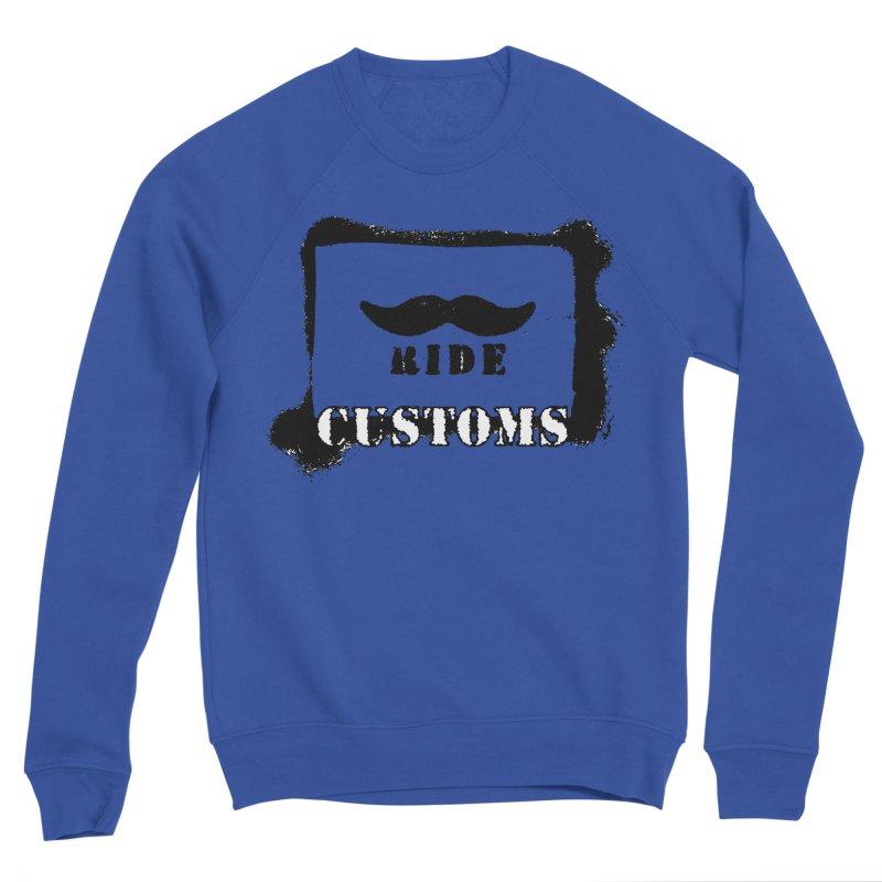 Mustache Ride Customs BLACK LOGO Women's Sweatshirt by MostlySAFE Webcomic Shwag