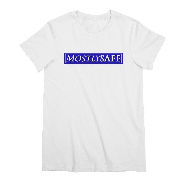 MostlySAFE Logo Women's Premium T-Shirt by MostlySAFE Webcomic Shwag
