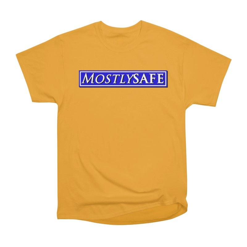 MostlySAFE Logo Men's Heavyweight T-Shirt by MostlySAFE Webcomic Shwag