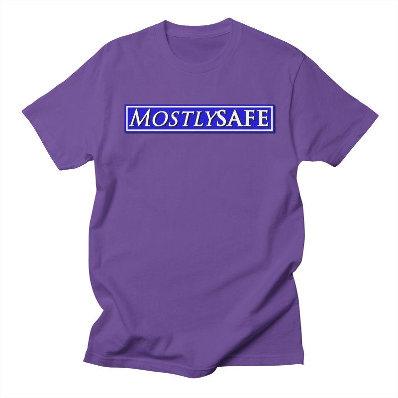 MostlySAFE Logo Men's Regular T-Shirt by MostlySAFE Webcomic Shwag