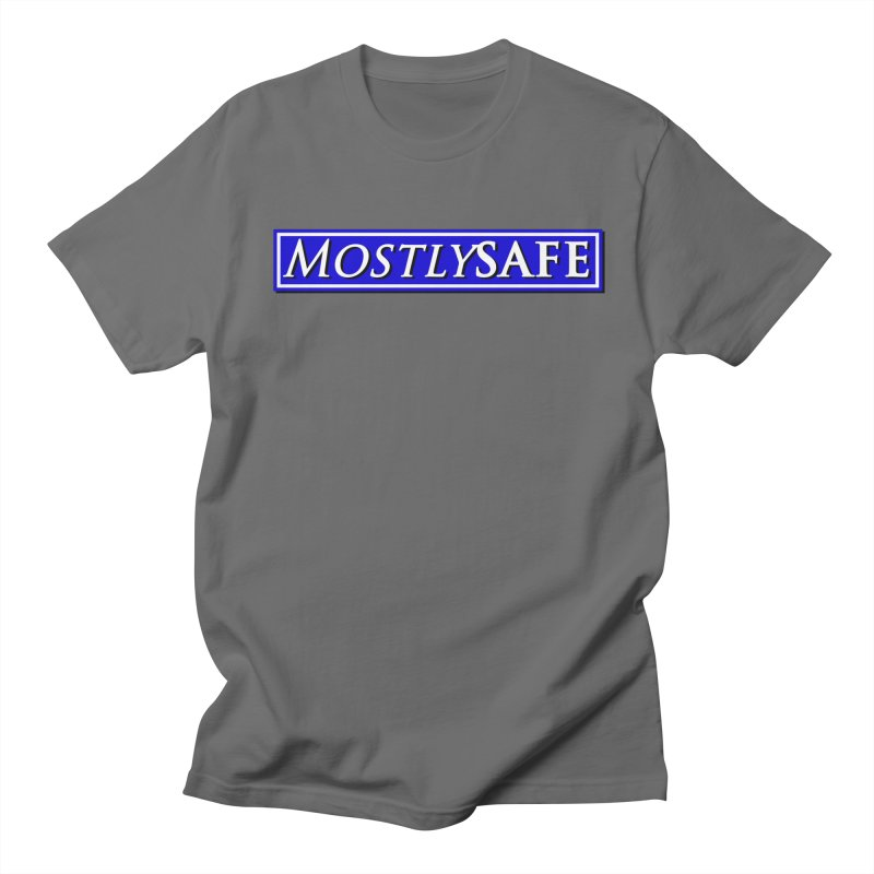 MostlySAFE Logo Men's T-Shirt by MostlySAFE Webcomic Shwag
