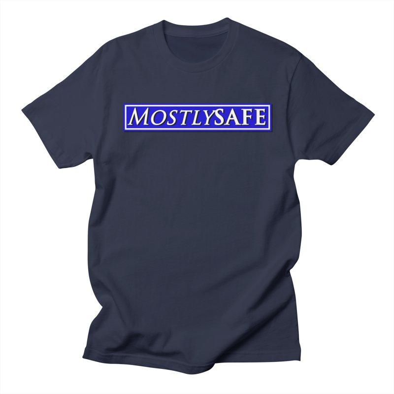 MostlySAFE Logo Women's Regular Unisex T-Shirt by MostlySAFE Webcomic Shwag