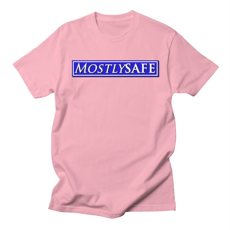 MostlySAFE Logo Men's Regular T-Shirt by MostlySAFE Webcomic Shwag