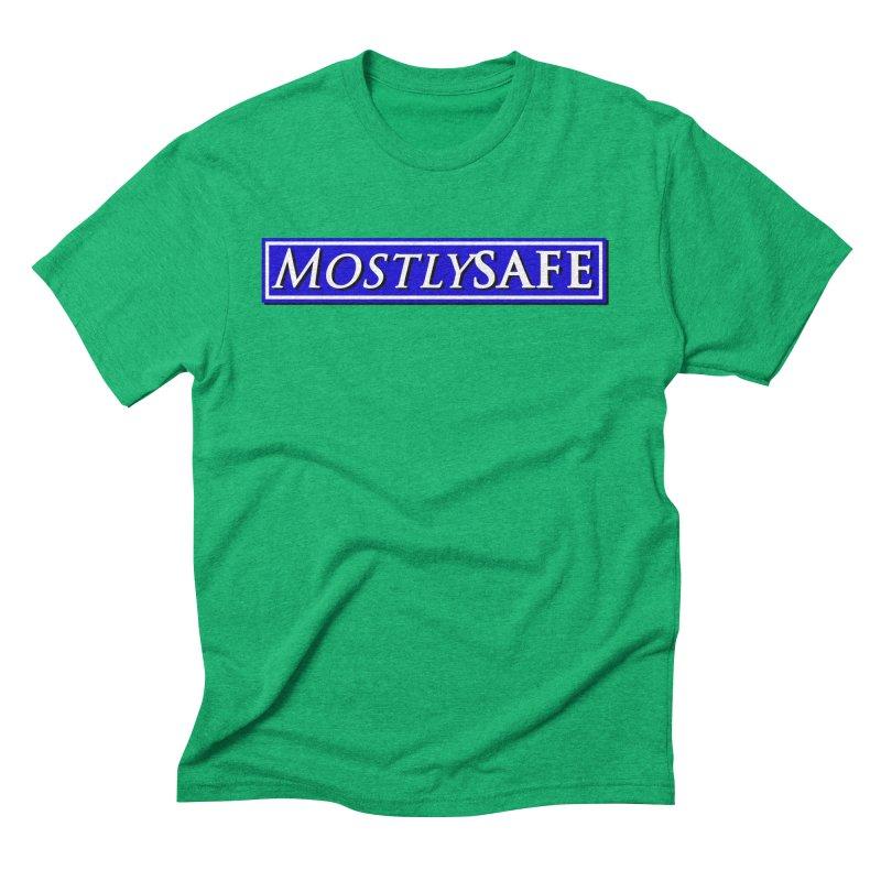 MostlySAFE Logo Men's Triblend T-Shirt by MostlySAFE Webcomic Shwag