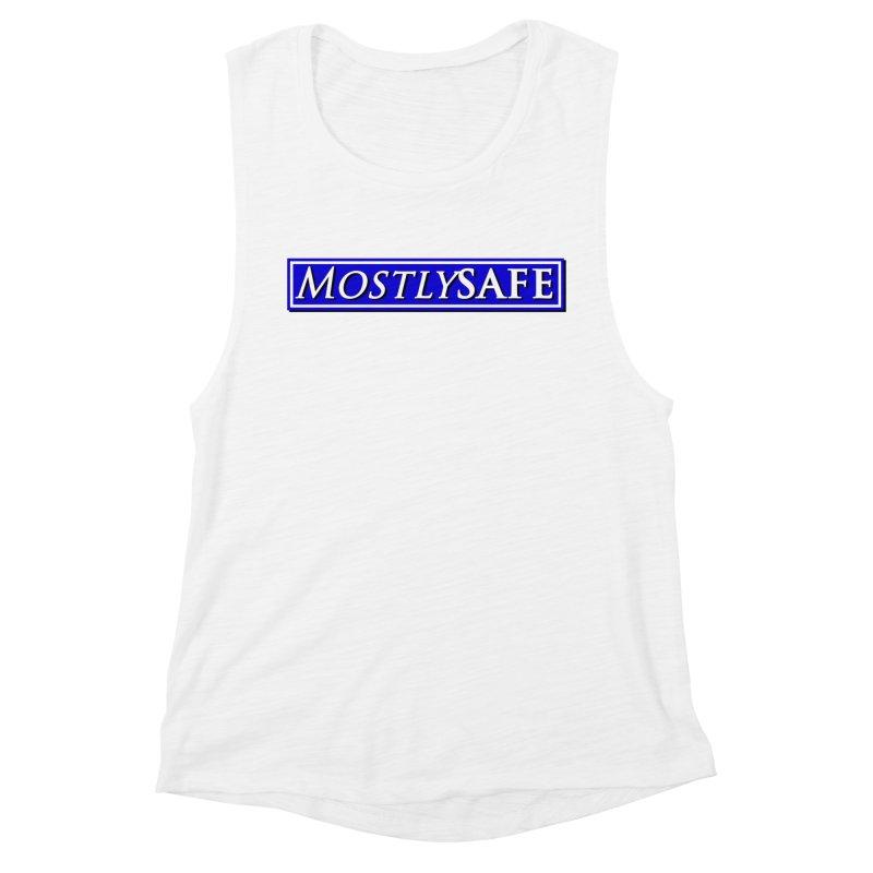 MostlySAFE Logo Women's Muscle Tank by MostlySAFE Webcomic Shwag