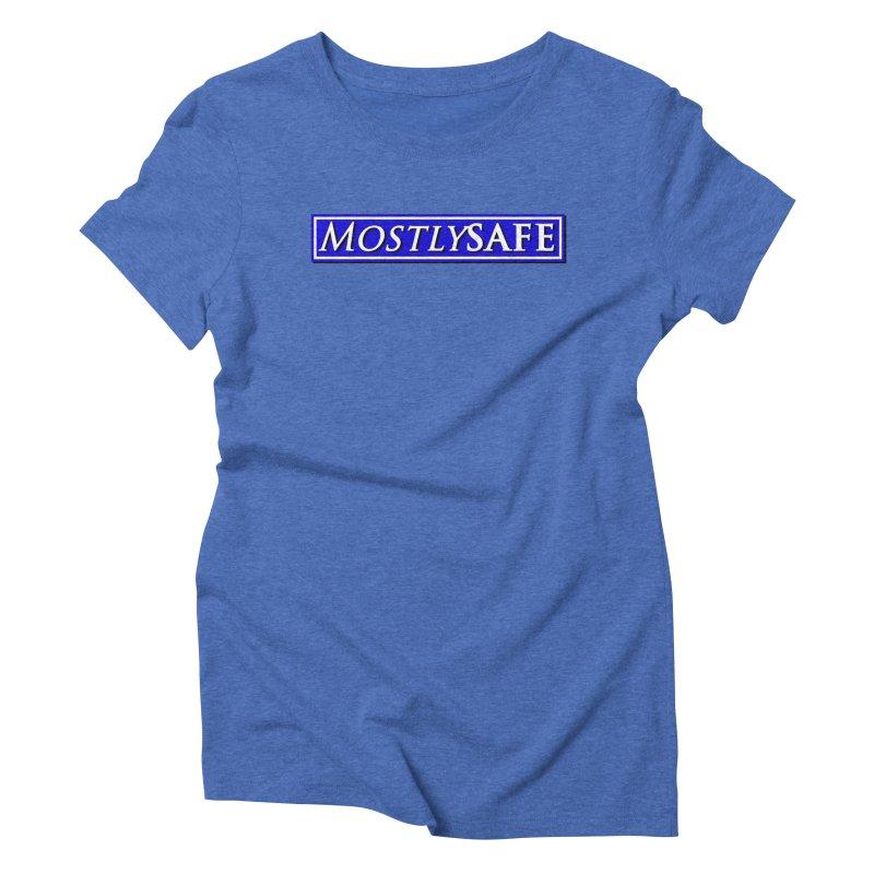 MostlySAFE Logo Women's Triblend T-Shirt by MostlySAFE Webcomic Shwag