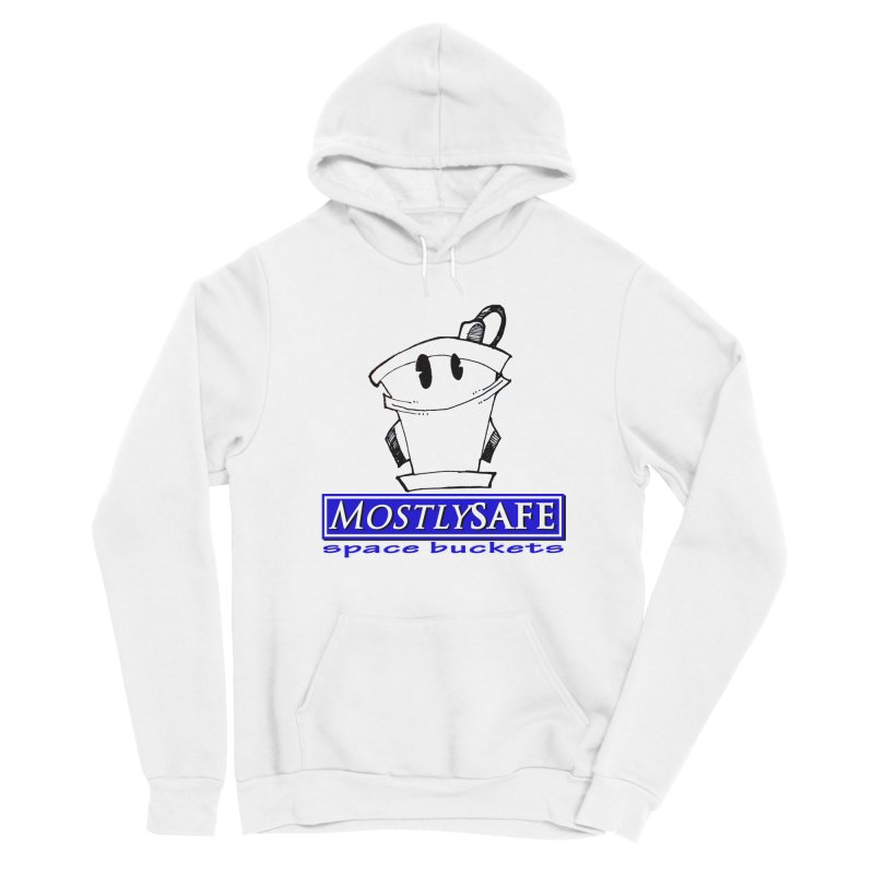 MostlySAFE Space Buckets Women's Pullover Hoody by MostlySAFE Webcomic Shwag