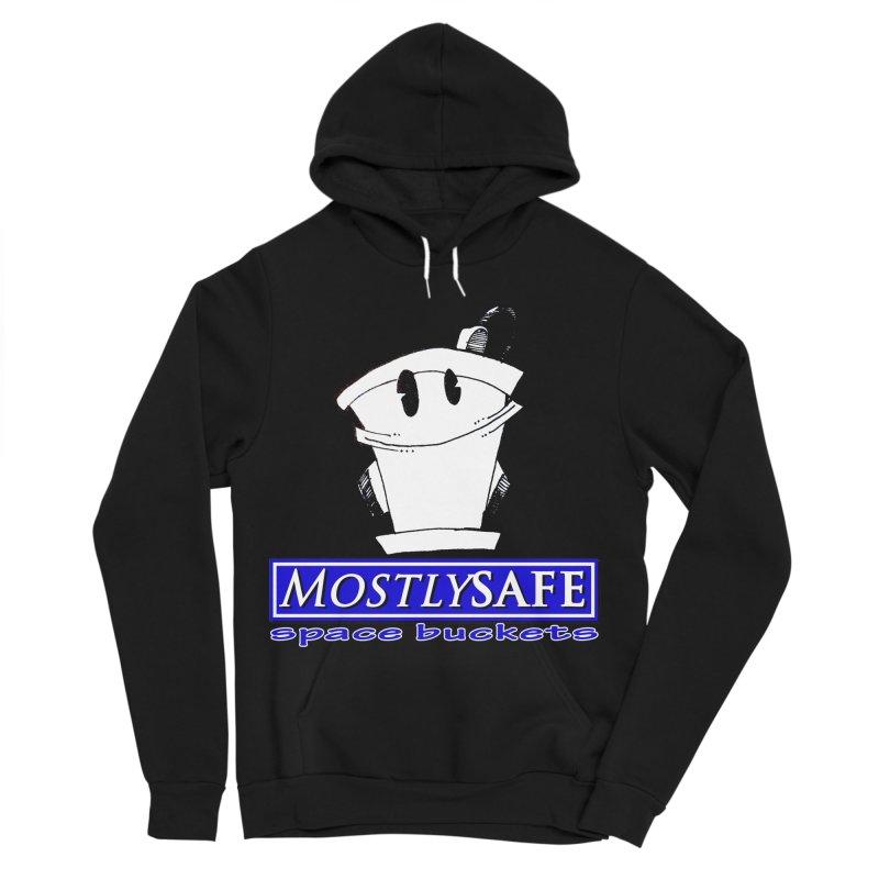 MostlySAFE Space Buckets Men's Sponge Fleece Pullover Hoody by MostlySAFE Webcomic Shwag
