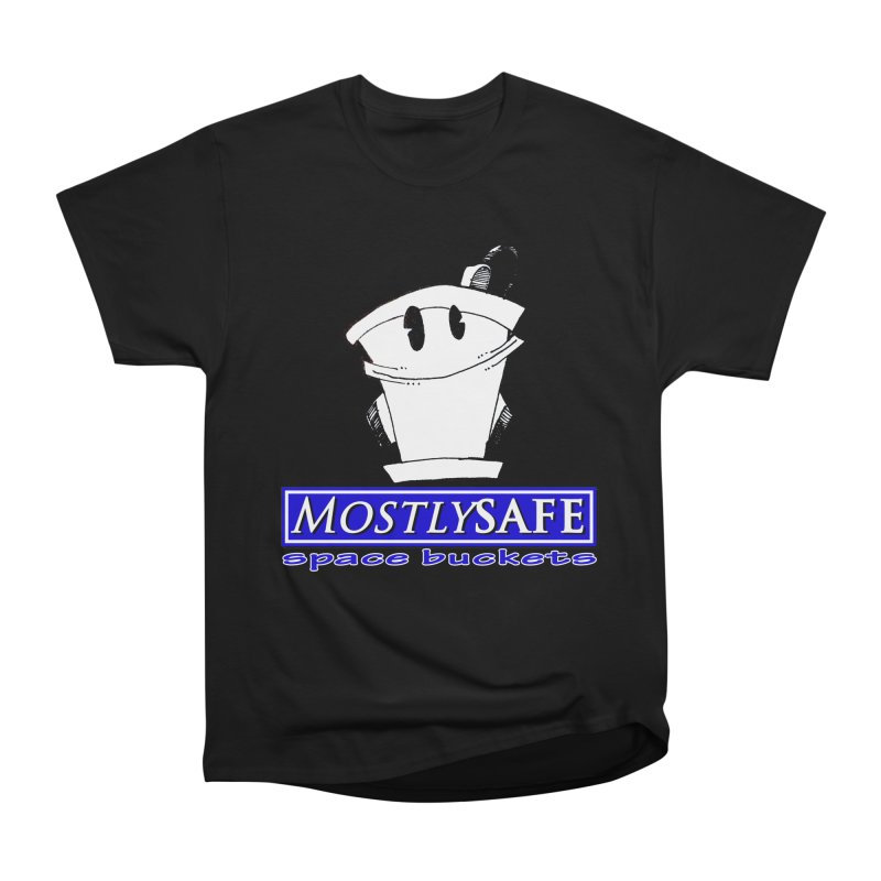 MostlySAFE Space Buckets Men's Heavyweight T-Shirt by MostlySAFE Webcomic Shwag