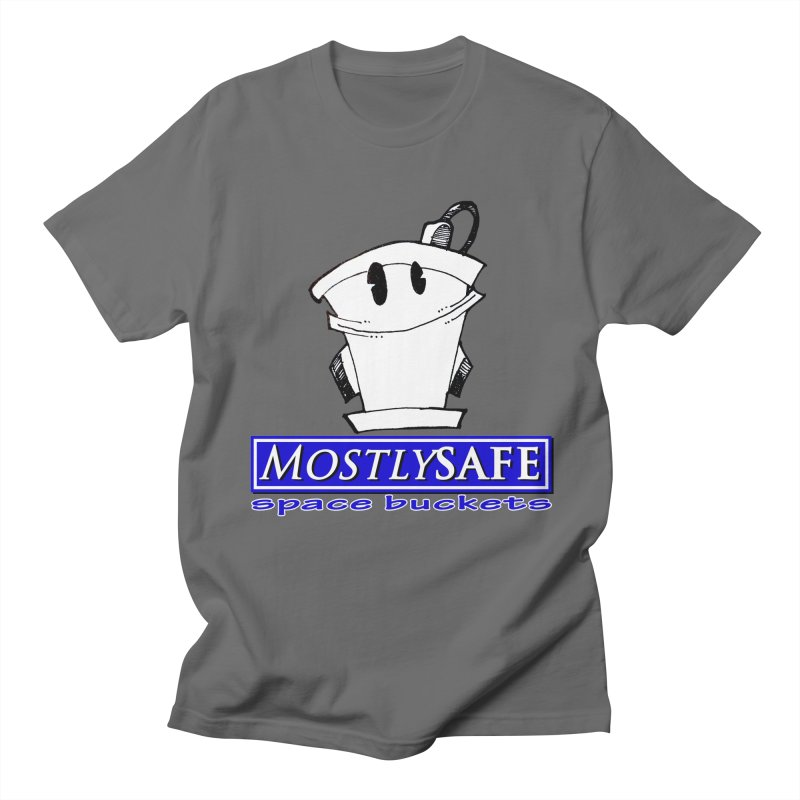 MostlySAFE Space Buckets Men's T-Shirt by MostlySAFE Webcomic Shwag