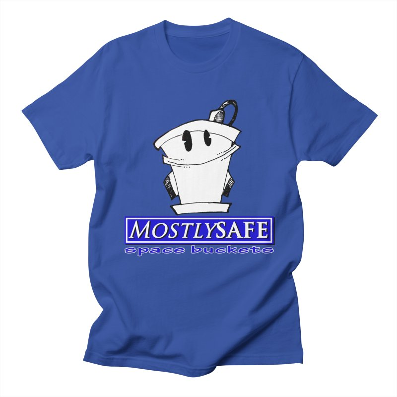 MostlySAFE Space Buckets Men's Regular T-Shirt by MostlySAFE Webcomic Shwag