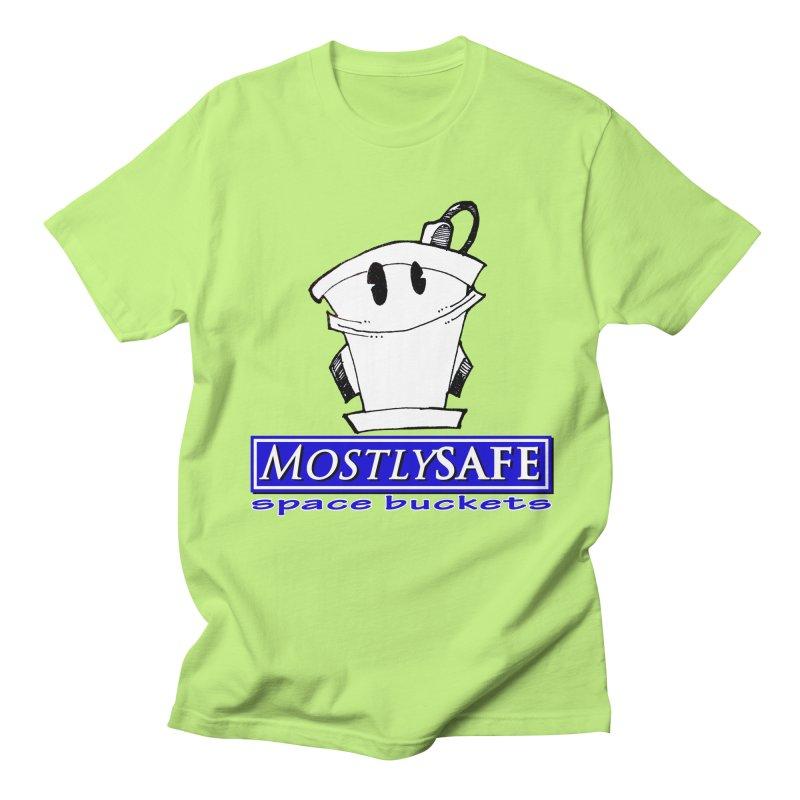 MostlySAFE Space Buckets Women's Regular Unisex T-Shirt by MostlySAFE Webcomic Shwag