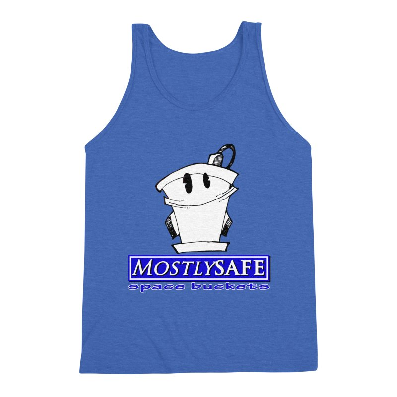 MostlySAFE Space Buckets Men's Triblend Tank by MostlySAFE Webcomic Shwag
