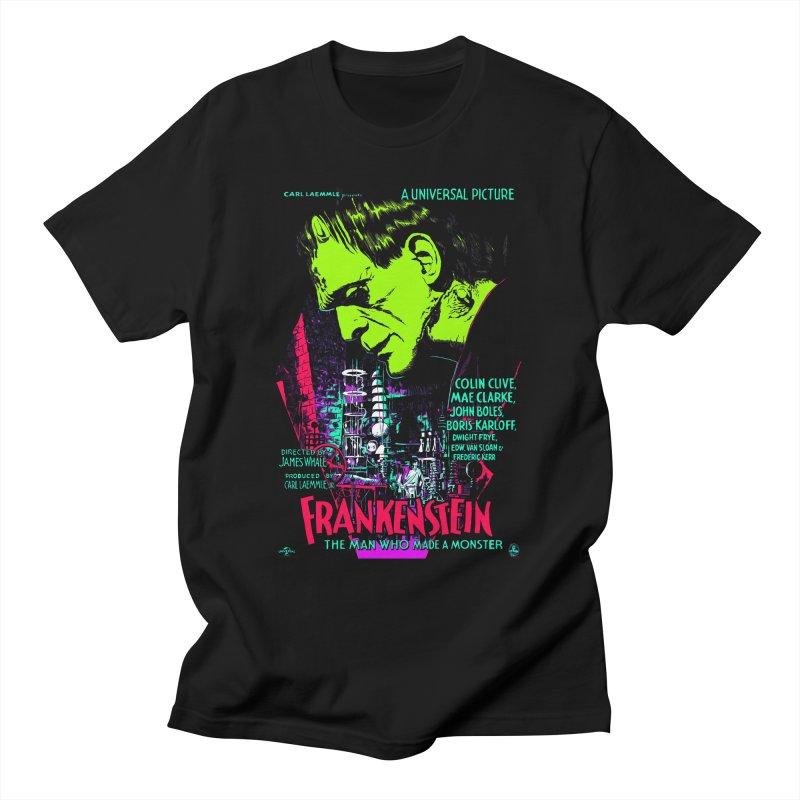 Frankenstein Monster Men's T-Shirt by mostro's Artist Shop