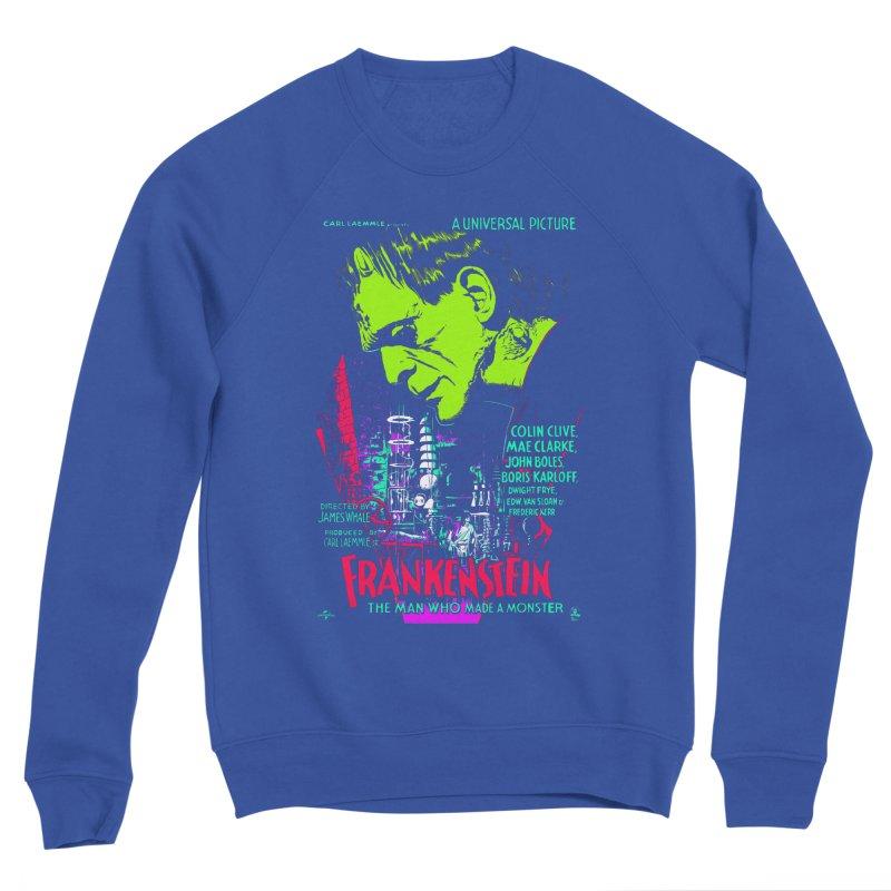 Frankenstein Monster Men's Sweatshirt by mostro's Artist Shop